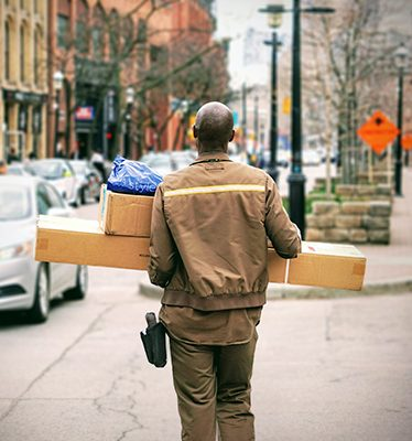 Parcels and small groupage shipments – worldwide