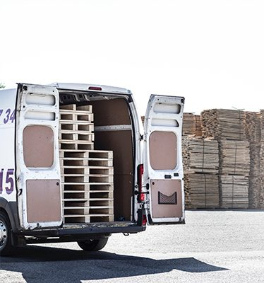 Up to 10 EUR-pallets/1000 kgs. National and international cross trade services from all countries to all countries in western- and eastern Europe
